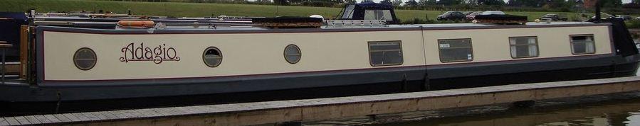 Liveaboard Narrowboat Adagio