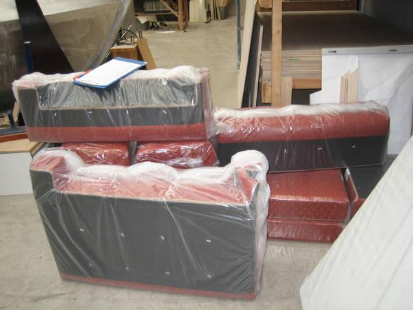 Cushions arrive