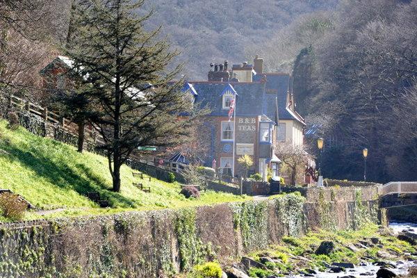 A riverside Lynton hotel