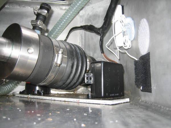 Detector & engine bilge
