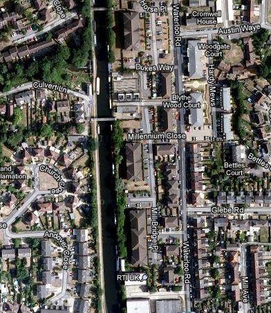 Grand Union Uxbridge Aerial View