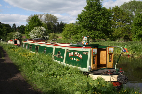 Narrowboat The Pearl