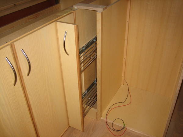 Kitchen sliding unit