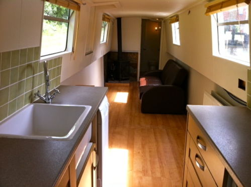 Open Plan liveaboard Narrowboat