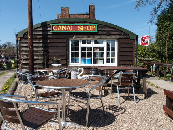 The Canal Shop at Kingswood Junction