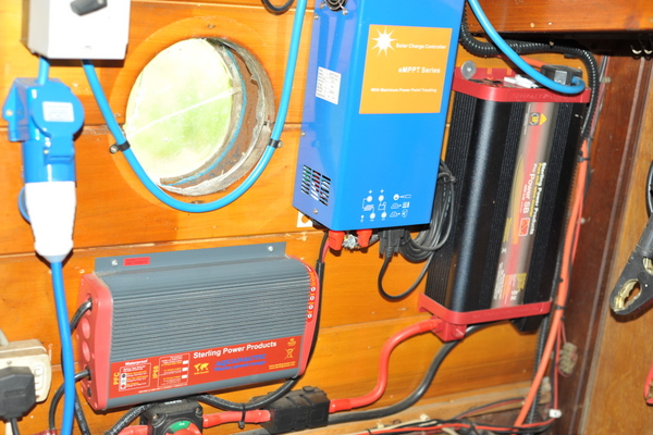 Charger, MPPT controller and inverter