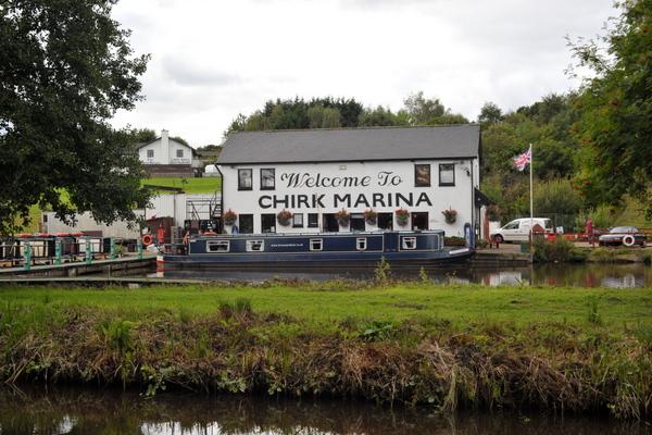 Chirk marina