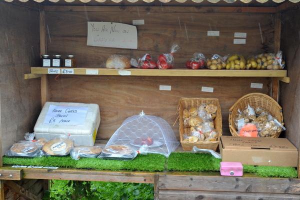 The lock side farm shop at Adderley