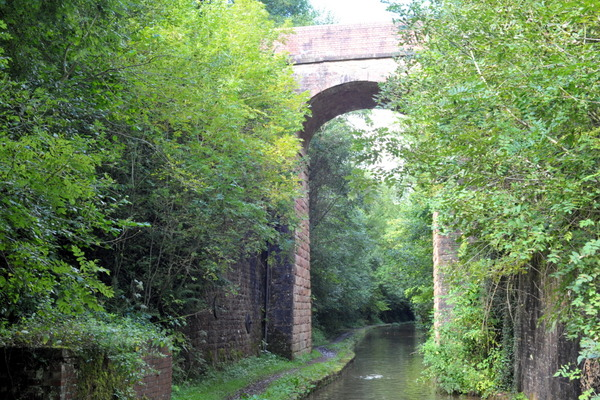 One of the two high Woodseaves Cutting bridges