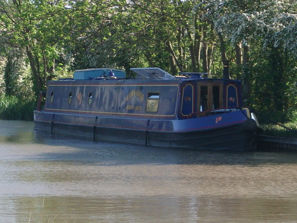 An idylic mooring for Lois-Jane