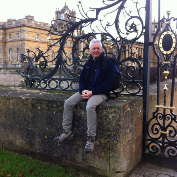 Blenheim Palace on a rare day away from the inland waterways