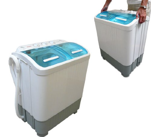 narrow washing machine
