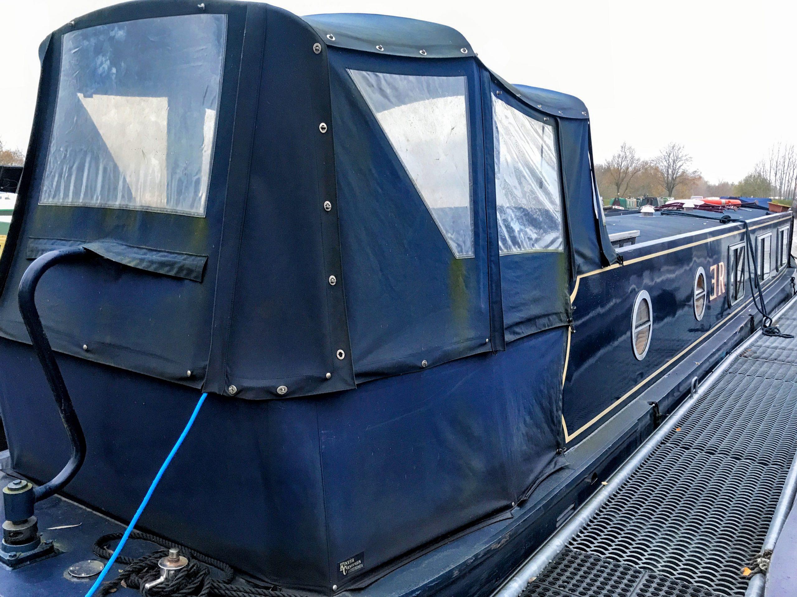 narrowboat pram cover 2