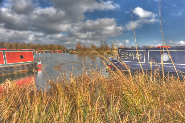 Calcutt Boats Meadows Marina from Mallard mooring