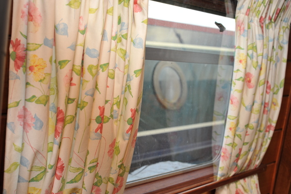Narrowboat secondary double glazing