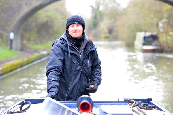 Narrowboat Helmsmanship training in December