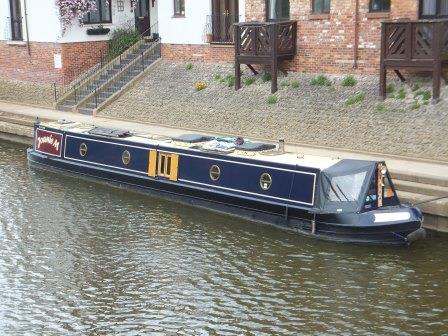 Narrowboat Joanie M