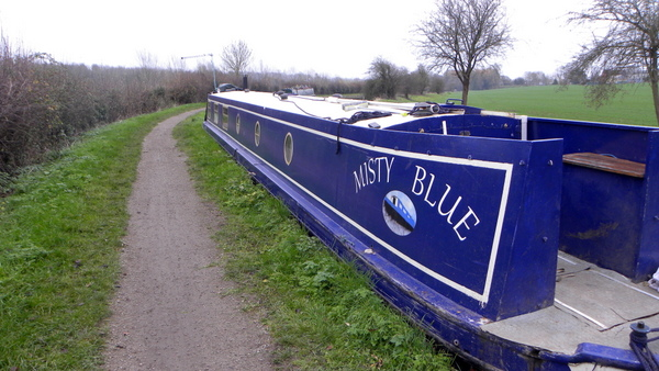 Narrowboat Misty Blue
