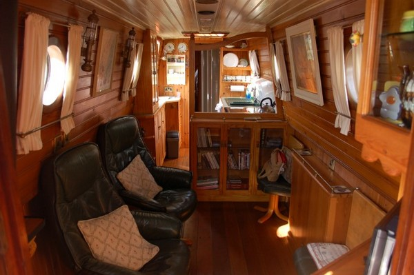 Saloon view Orient, our new floating home