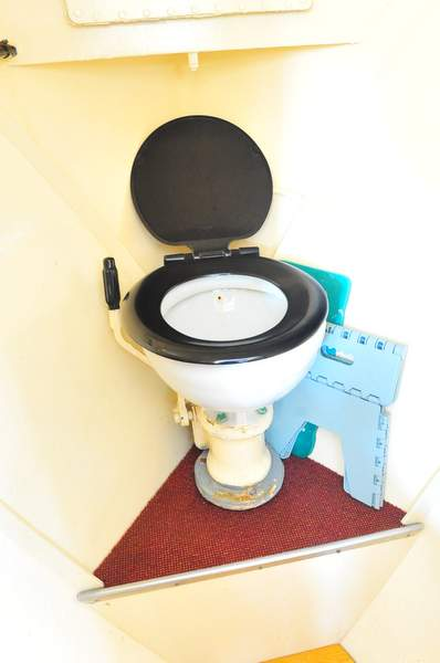 Julisa's sea toilet
