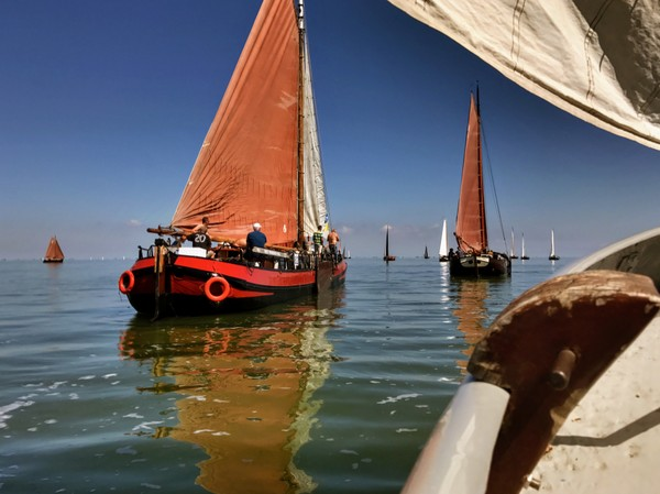 Sailing without wind