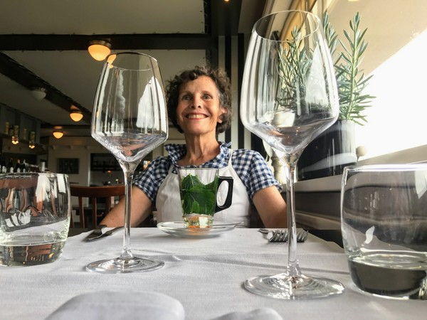 A posh meal out in Muiden, Netherlands