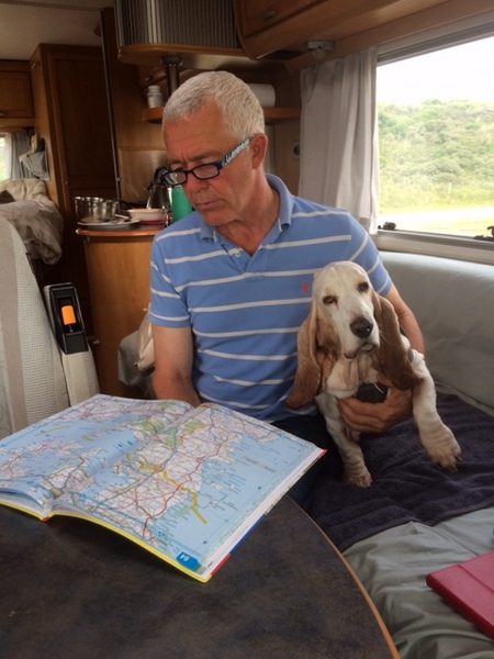 On board route planning