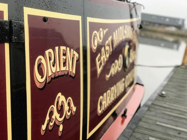 Orient's paintwork is now polished to perfection