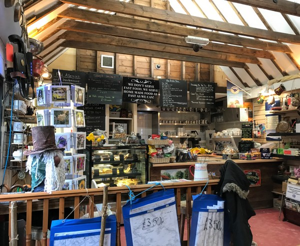 Hatton locks cafe - An oasis for the weary boater.