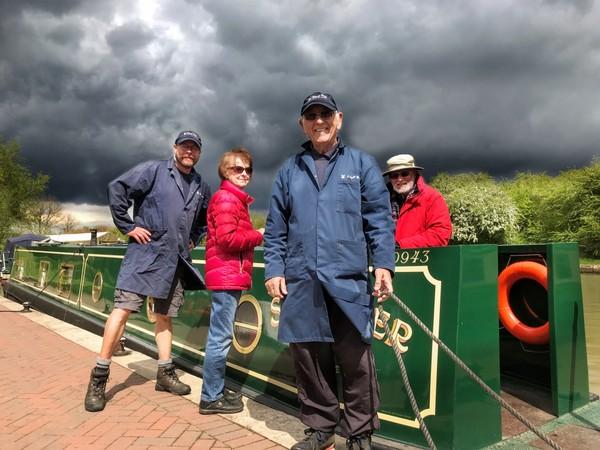 Happy Calcutt wharf staff