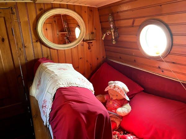 Orient's tiny main bedroom sleeps just one bear