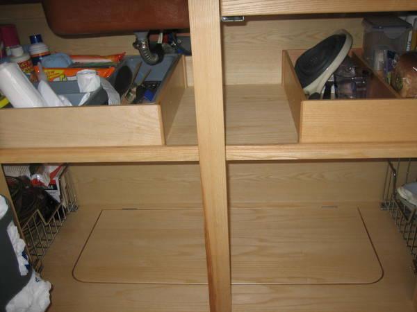 Kitchen shelf 1