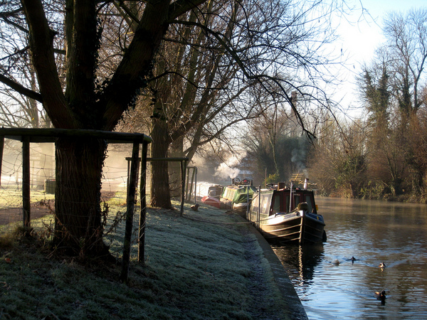 Living on the river Cam