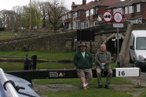 There were two old men...... at Marple top lock