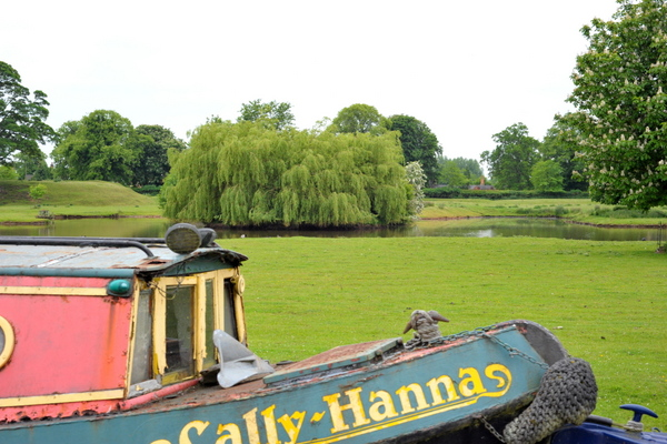 Private moorings at Shackerstone