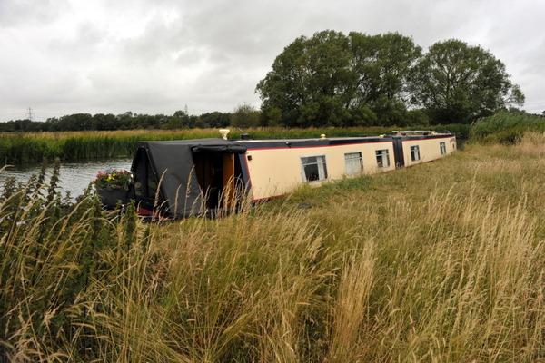 Our remote mooring close to Chimney Meadows nature reserve