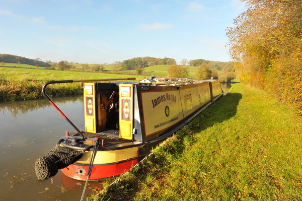 My first aborted mooring close to Kicklewell Spiney