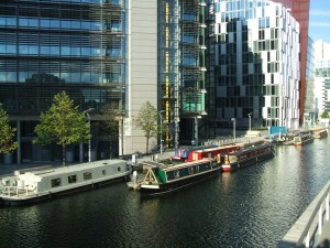 Paddington Basin - HOBO in the City