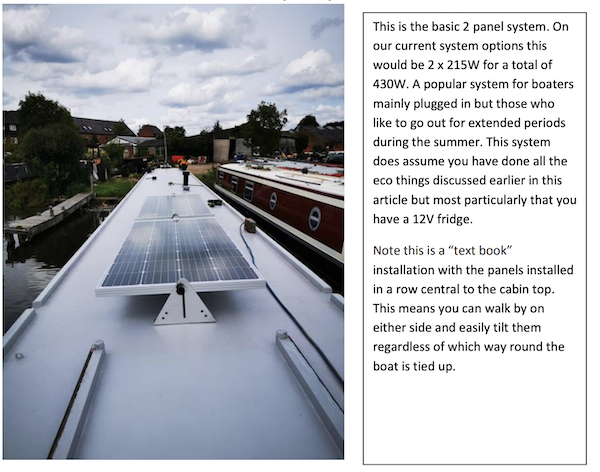 Two solar panel entry level system
