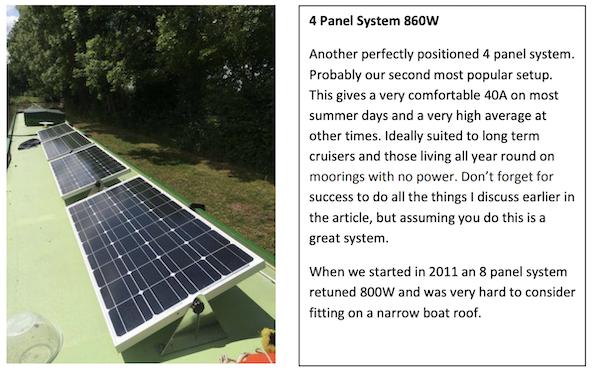 Four Solar Panel System