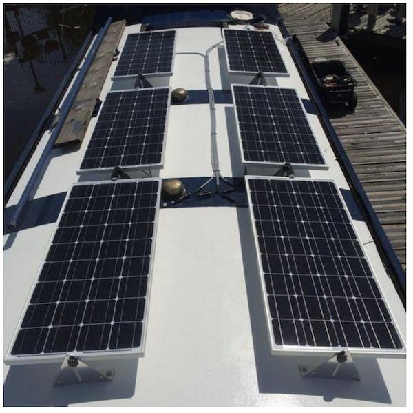 Wide Beam Six Solar Panels