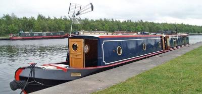 Ugly traditional narrowboat aerial
