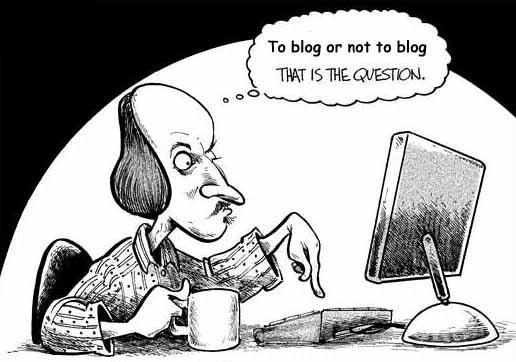 narrowboat blogging