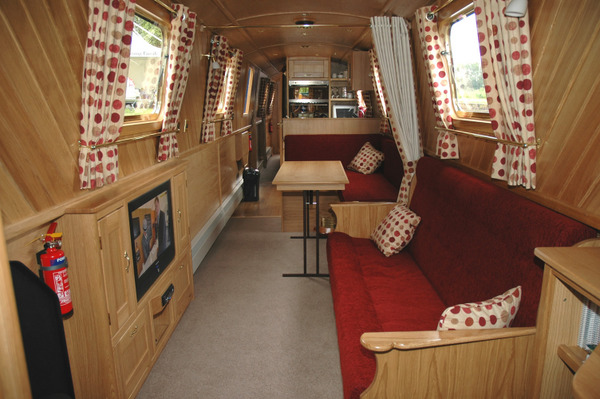 Comfortable living on a shared ownership narrowboat
