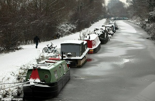 is a narrowboat cold in winter