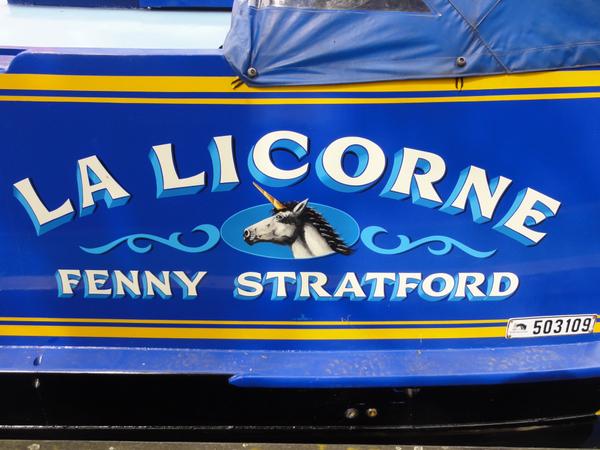 Narrowboat La Licorne